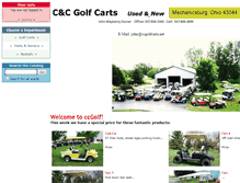 Tablet Preview of ccgolfcarts.net